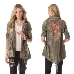 Free People Fall Festival Anorak size12